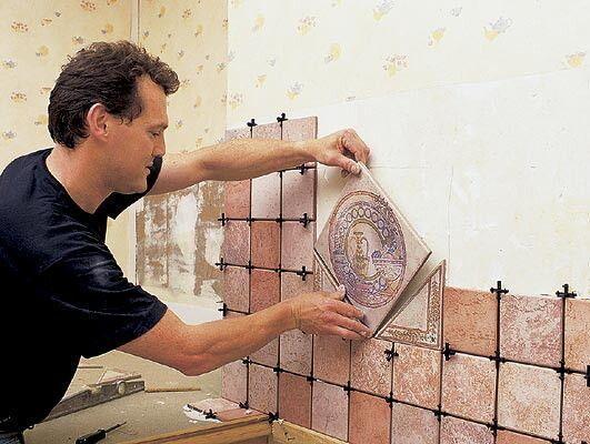 Укладка плитки на кухню на пол своими руками