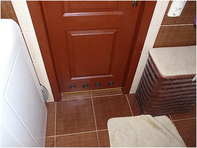 Как сделать двери в ванной 987