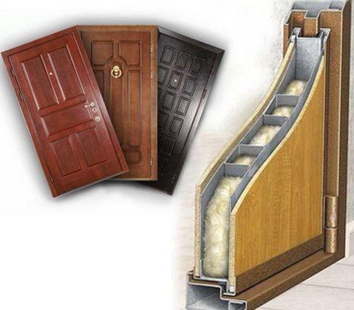 металлическая дверь с звукоизоляцией